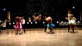 JPPSS Ballroom Dancing Kids swing dance for Dollars for Scholars Benefit