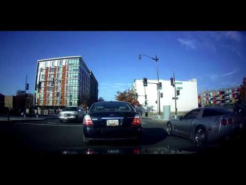 Driving on 7th ST NW to Georgia Avenue (Washington DC) (Capital Building)