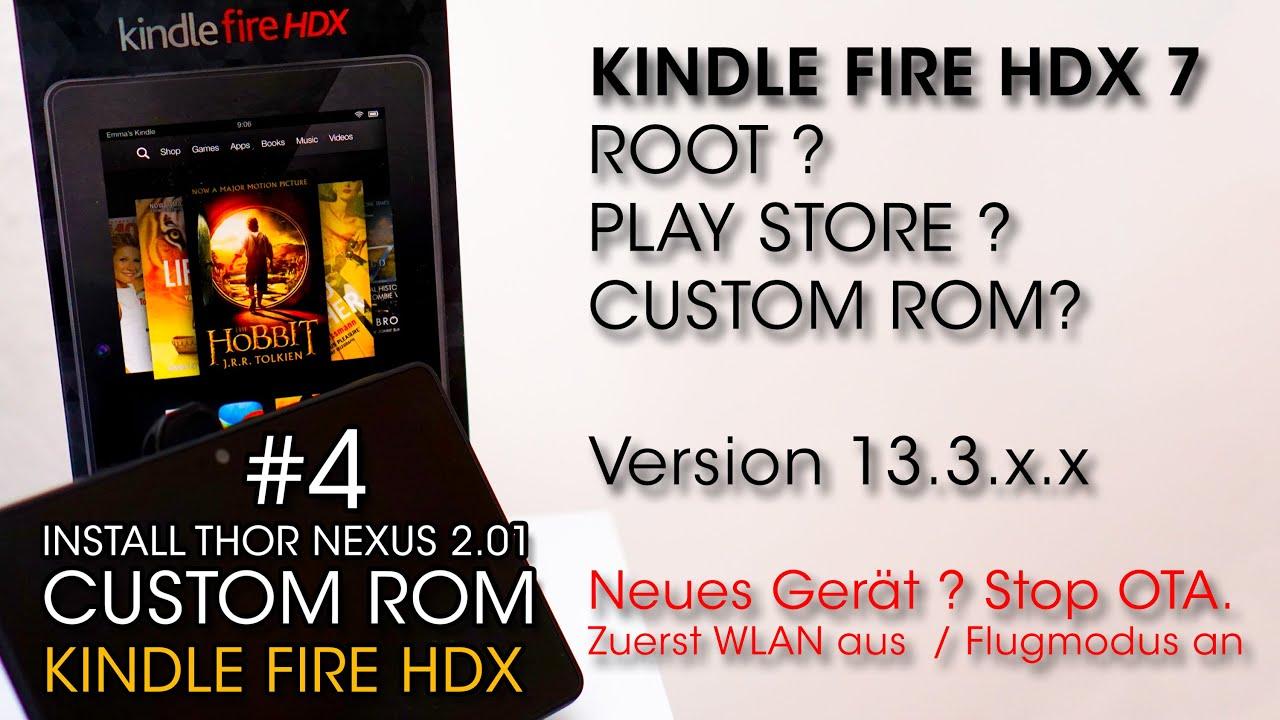 Amazon Fire 7 Custom Rom