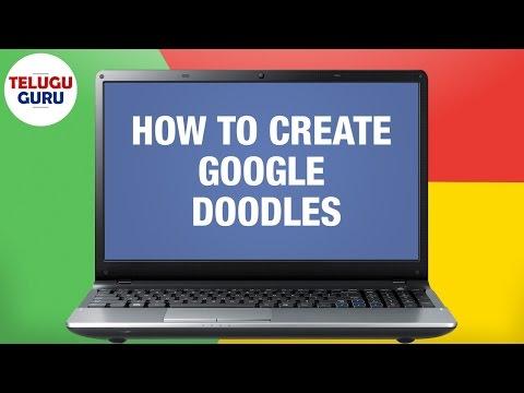 How To Create Google Doodles | ChalkMotion.com | Telugu Online Tutorial | Telugu Guru