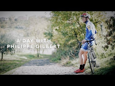 A Day With Philippe Gilbert And Infinito R1 Shoes