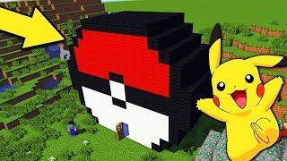 НУБ ПОСТРОИЛ ДОМ ДЛЯ ПОКЕМОН ПИКАЧУ В Майнкрафт троллинг нуба Minecraft Мультик для детей