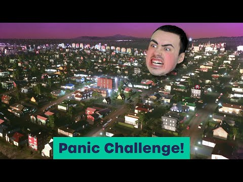 Trying Biffa's PANIC CHALLENGE... 30 Minutes Population! - Cities Skylines