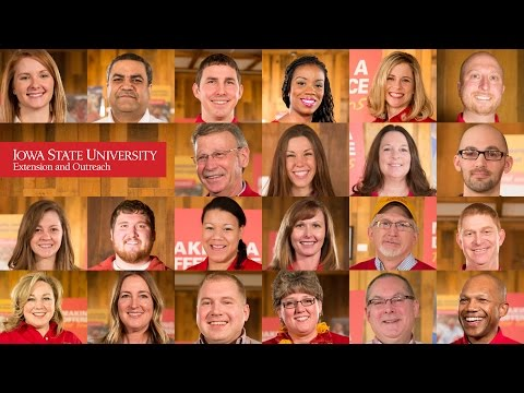 ISU Extension and Outreach Is All about People