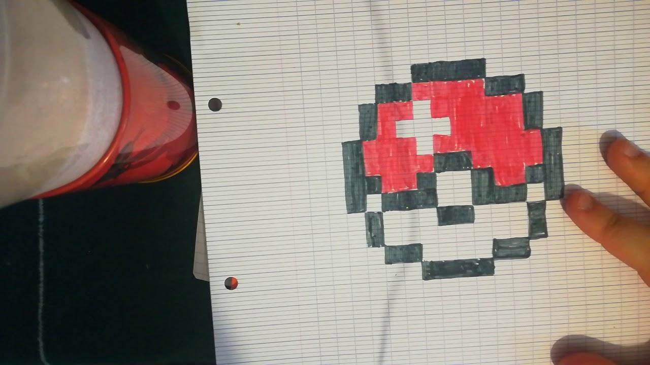 Tout Les Matériaux Pour Faire Des Pixel Art Sur Feuille De