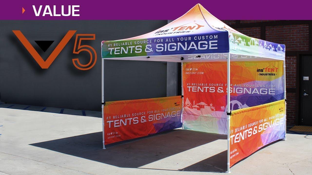 V5 Custom Business Tent Explained! & V5 Custom Business Tent Explained! - YouTube