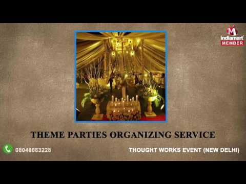Event Management and Conference Planning Services By Thought Works Event, New Delhi