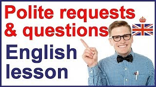 Polite requests and questions | Spoken English thumbnail