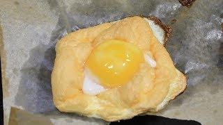 Завтрак для привередливых детей. Облачные яйца.