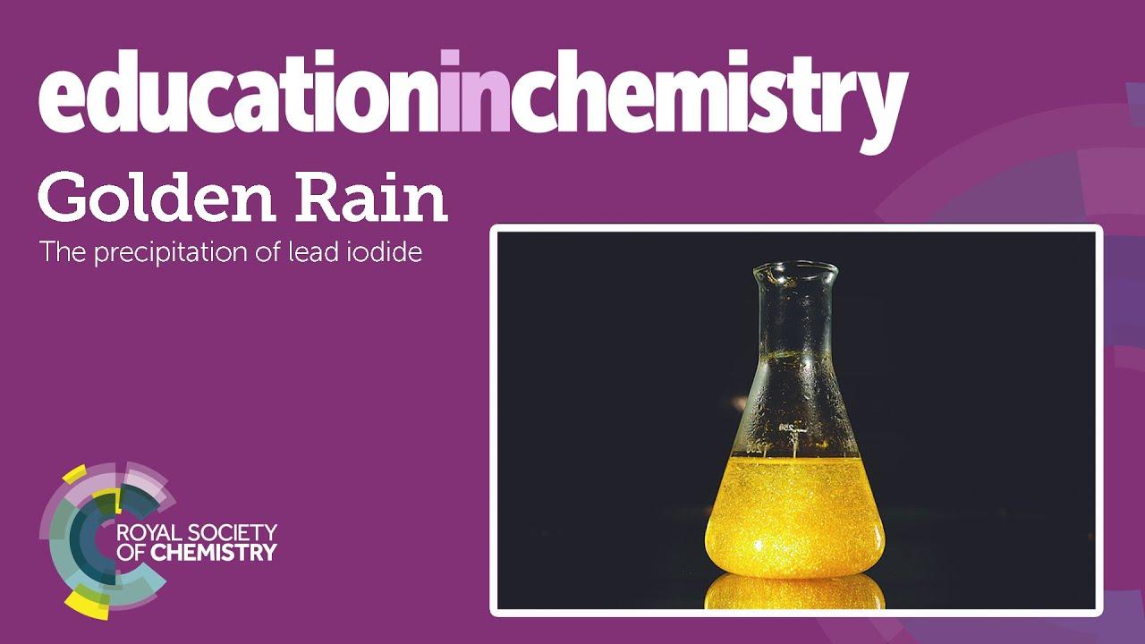 Golden rain   Exhibition chemistry   Education in Chemistry