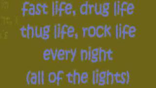 All of the lights Kanye West Feat  Rihanna, Kid Cudi, Fergie, Elton John, Alicia Keys