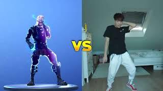 Fortnite Dances Real vs game