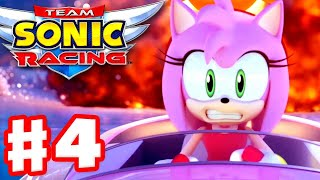 Team Sonic Racing - Gameplay Walkthrough Part 4 - Chapter 4: Cheats Never Prosper!