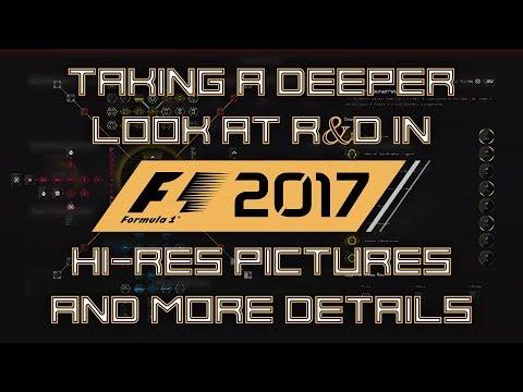 F1 2017 - R&D in DETAIL - Looking deeper in Research & Development!!