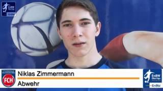 C-Junioren 1.FC Heidenheim Niklas Zimmermann