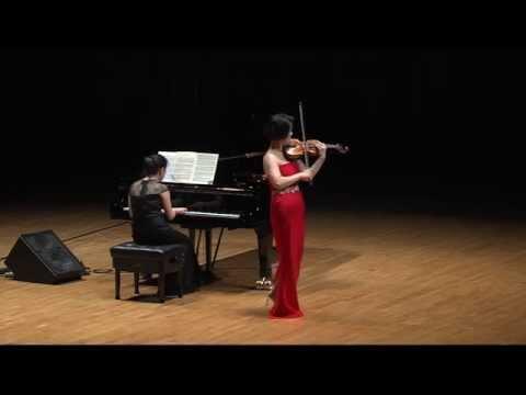바이올리니스트 백주영(Ju Young Baek) -  Zapateado, Op.23, No.2 사파테아도(Pablo de Sarasate)