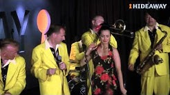 Rebecca Grant & Jive Aces Live @ Hideaway, London's top Jazz Club, July 2012