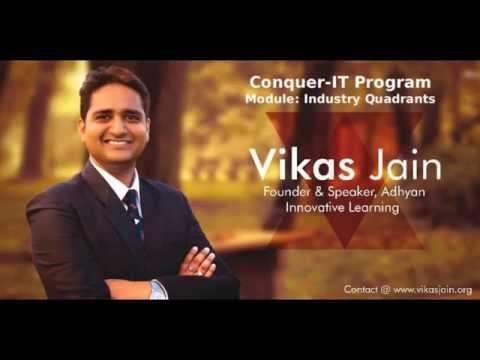 Skill India Software Engineer - Module-2-IT Industry Quadrants by Vikas Jain