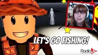 Fishing On Death Island! Roblox | RadioJH Games