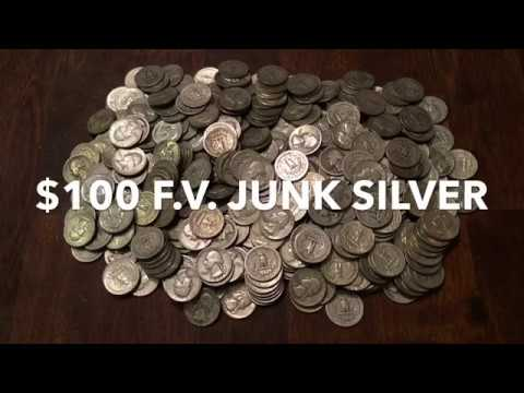 Stacking Silver:  BIG Pile of Junk Silver