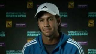 Madrid Open 2010 Interview with F.Verdasco 09/05/10