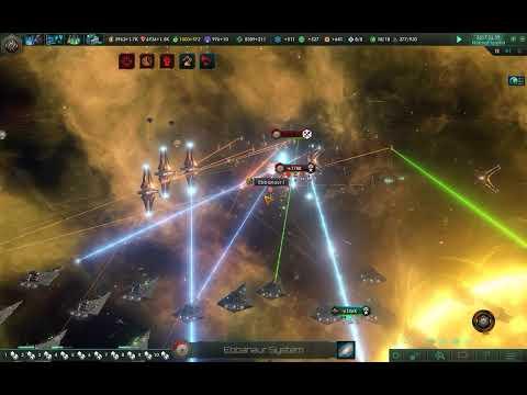 Many Star Destroyers vs The Awakened Empire - Stellaris |