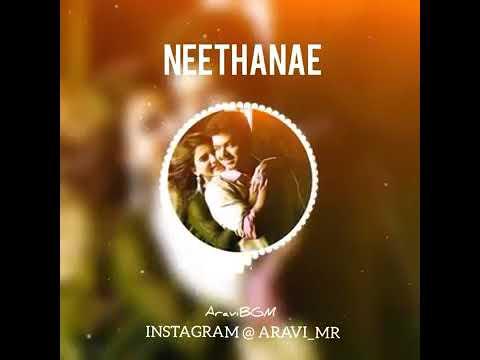 Neethane Flute Bgm | Mersal | Vijay AR Rahman