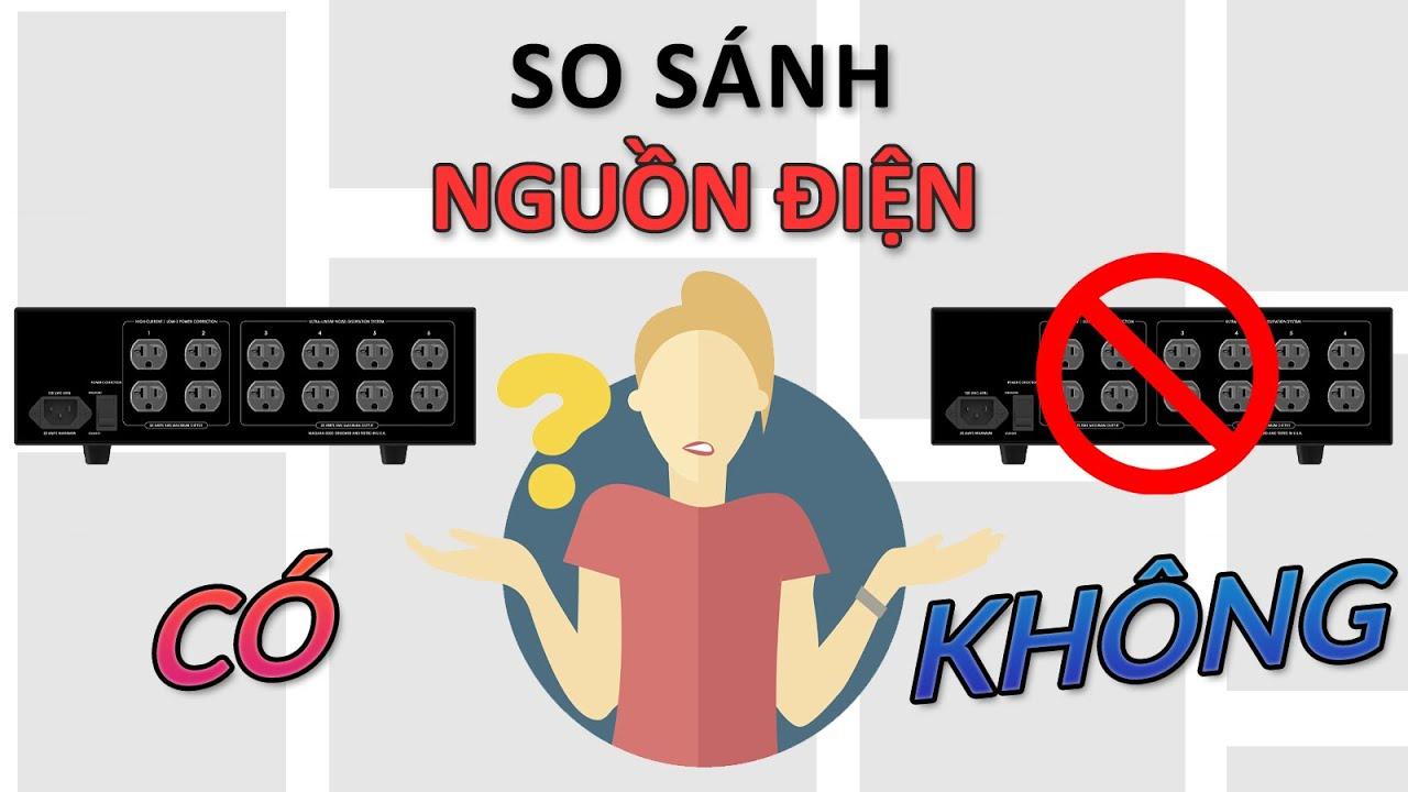Thí nghiệm so sánh nguồn điện khi có lọc nguồn | Chia sẻ kiến thức 16