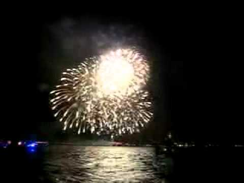 Golden Gate 75th Anniversary Fireworks Aboard the SF Fireboat Guardian