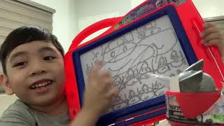 Toy Review - Marvel Mash'ems Thor, Roblox & Magnetic Board
