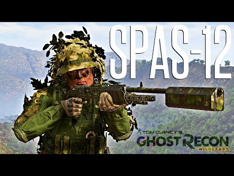 SPAS-12 JUNGLE OPERATOR - Ghost Recon Wildlands Solo Missions (Hardest Difficulty)