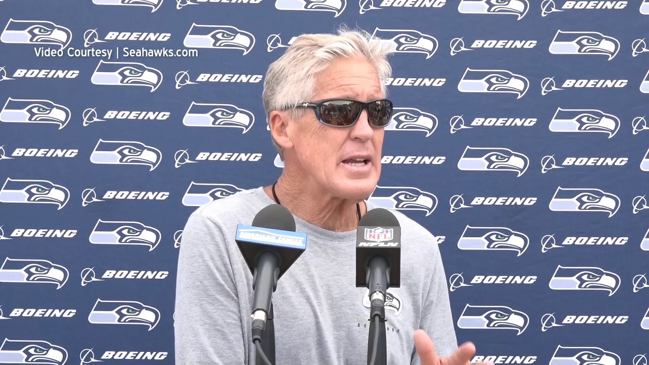 Pete Carroll on Collier Injury 2019-08-01