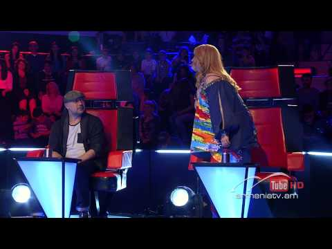 Gayane Arzumanyan,I Will Survive By Gloria Gaynor-The Voice Of Armenia-Blind Auditions-Season 1