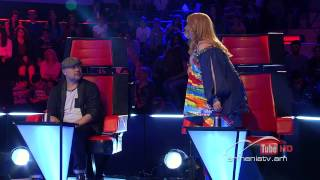 Gayane Arzumanyan I Will Survive By Gloria Gaynor The Voice Of Armenia Blind Auditions Season 1