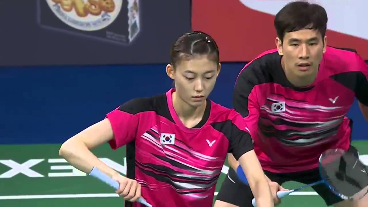 2015 Denmark Open F Ko Sung Hyun Kim Ha Na vs Tontowi Ahmad