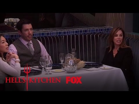 Drew Scott Eagerly Awaits His Food | Season 16 Ep. 10 | HELL'S KITCHEN