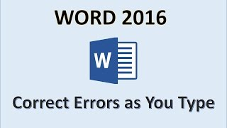 Word 2016 - Spelling and Grammar Tutorial - How To Spell Check and Add Words to Dictionary - MS Fix