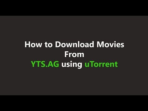 How to download movies from YTS.AG using...