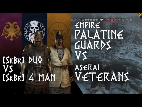 Archer Duels | Empire V Aserai | Mount & Blade 2 Bannerlord Beta Captain Mode Gameplay | Duo Squad