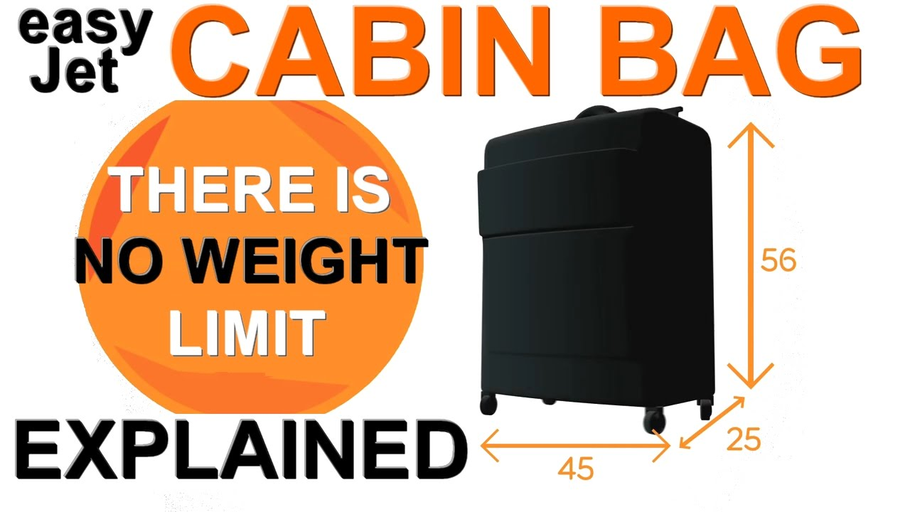 Easyjet Cabin Bag Explained