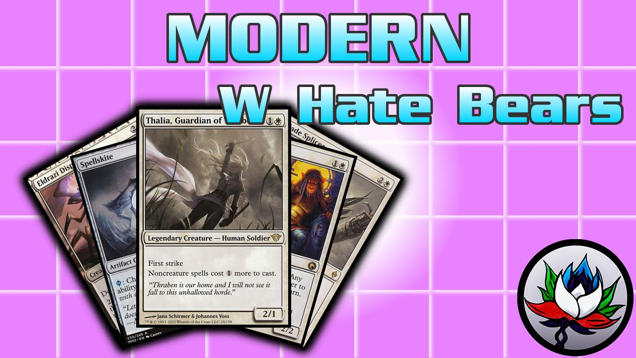 MTG - Annoying Mono White Hate Bears/Death and Taxes Modern Deck Tech for  Magic: The Gathering!