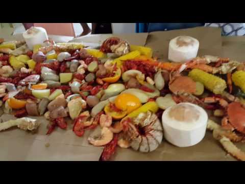 First time cooking Southern sea food boil by Polynesian Part 2