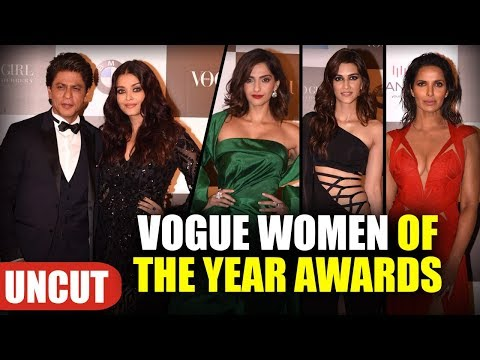 UNCUT - Vogue Women Of The Year Awards |  Shah Rukh Khan | Aishwarya Rai Bachchan | Full Event