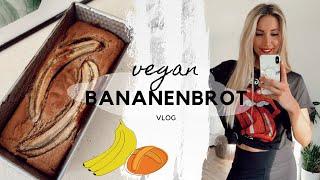 Veganes Bananenbrot Rezept I Vlog