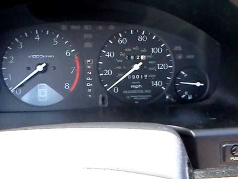 1997 acura TL/CL maintenance required light reset - YouTube