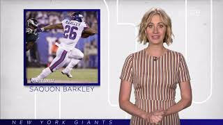 Audible: Saquon Barkley's Eye-Popping Stats vs. Eagles | New York Giants | MSG Networks