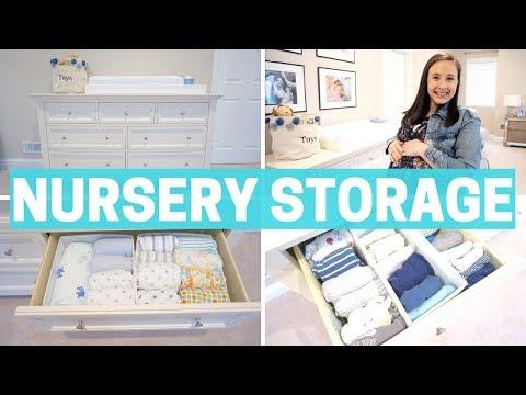NEWBORN BABY STORAGE - ORGANIZATION & NURSERY MUST-HAVES!!!