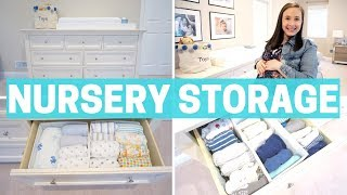 NEWBORN BABY STORAGE - ORGANIZATION & NURSERY MUST-HAVES!!!