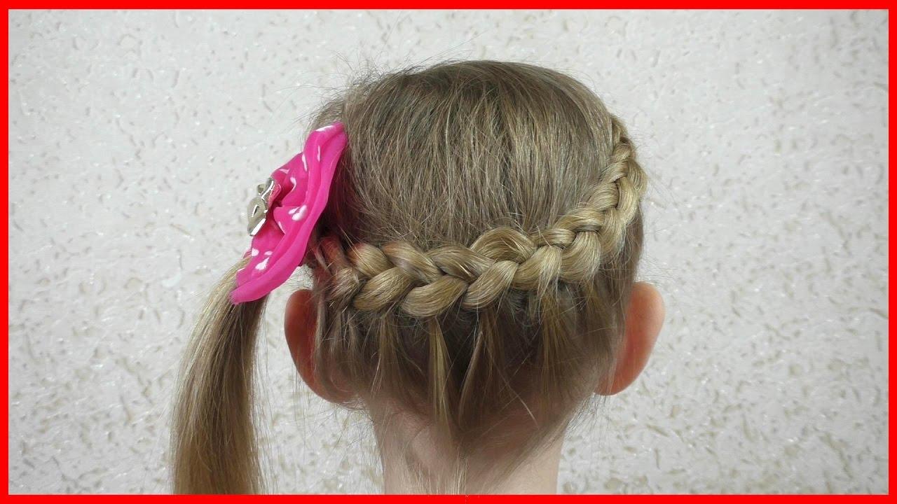 Прически для девочек.плетение кос 76