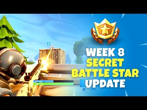 Week 8 Secret Battle Star Update - Fortnite Battle Royale